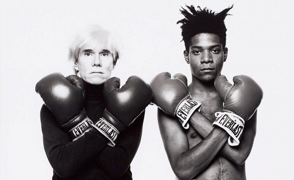 Warhol y Basquiat. Tomado de internet