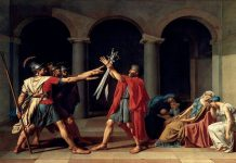 Juramento de los Horacios - Jacques-Louis David