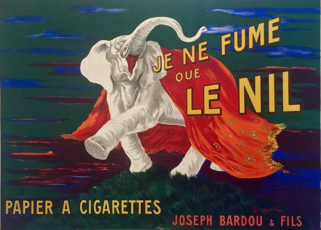 Le Nil by Cappiello