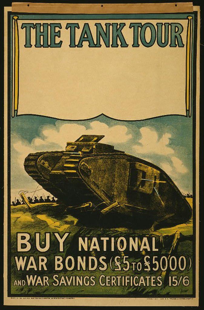 Cartel Propagandístico Reino Unido Primera Guerra Mundial 2 Cartel Propagandístico Reino Unido para la compra de bonos del estado