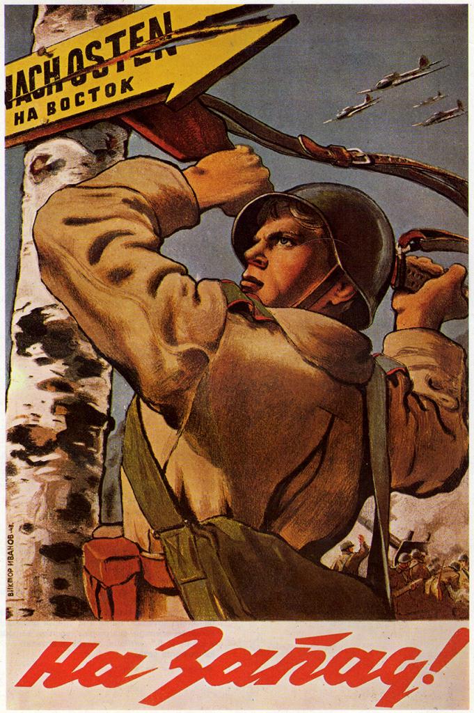 Cartel de propaganda Sovietico