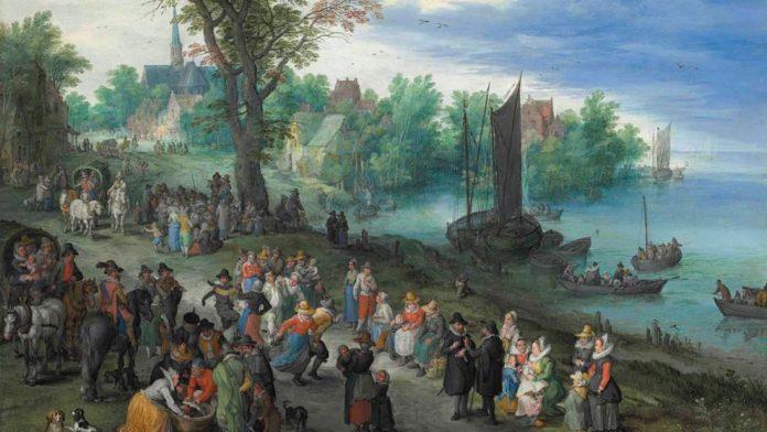 Jan Brueghel 'El Viejo' y los secretos 'ocultos' en su obra El cuadro de Jan Brueghel 'El Viejo' sale a subasta el próximo 6 de julio (Christie's)