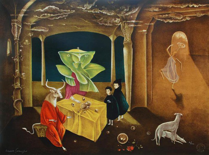 Leonora Carrington - La hermana del Minotauro