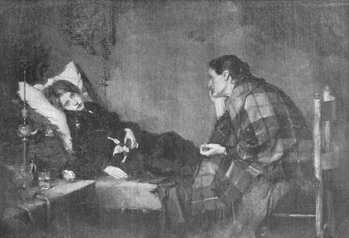 La Convaleciente, de Leopoldo Romañach.