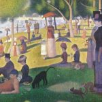 «Un dimanche après midi en la isla de la Grande Jatte» Georges Seurat