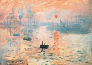 'Impresión, sol naciente' (1872) – Claude Monet.