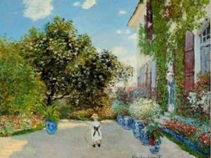 'La casa del artista en Argenteuil' (1873) – Claude Monet.