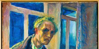 """""""El caminante nocturno"""", (1923-24) un autorretrato de Munch en sus últimos años de vida.Credit 2016 Edvard Munch/Artists Rights Society (ARS), Nueva York; The Munch Museum, Oslo"""