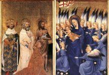 Díptico de Wilton. Pintor anónimo del siglo XIV
