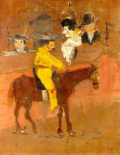 La primera obra de Picasso