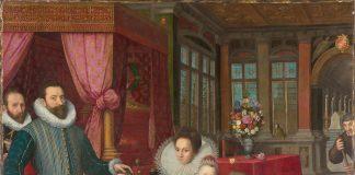 Karel II príncipe de Arenberg con su familia