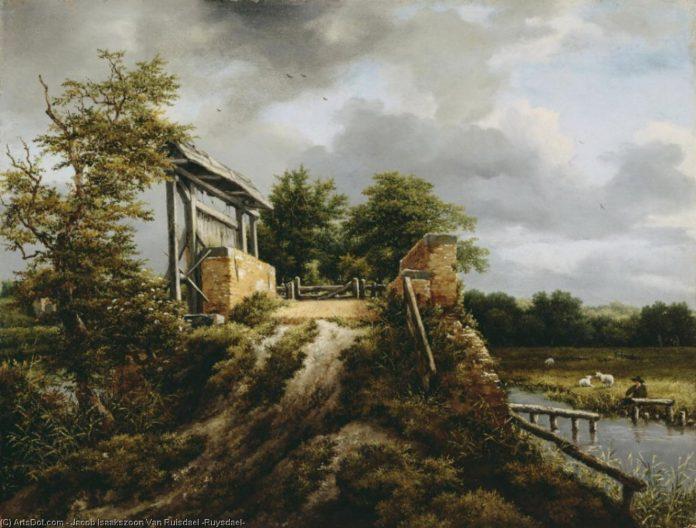 Puente con una esclusa