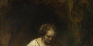 'Mujer en un arroyo', de Rembrandt.