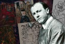 """George Grosz, el artista que hizo de su arte su """"fusil y sable"""""""
