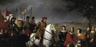 Gonzalo Fernández de Córdoba at the Battle of Cerignola