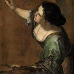 Artemisia Gentilechi. Autorretrato