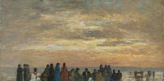 Figuras en la playa de Trouville 1869