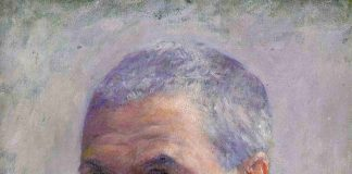 Autorretrato de Gustave Caillebotte