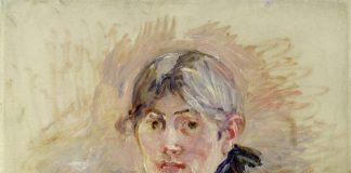 """Berthe Morisot, """"Autorretrato"""", 1885 (Foto: Wikimedia Commons Dominio Público)"""